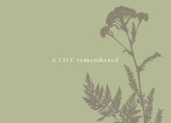 A Life Remembered: Guest Book (Hardcover)