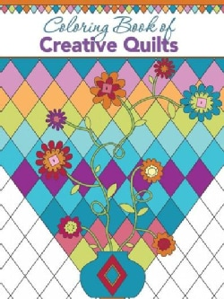 Coloring Book of Creative Quilts (Paperback)