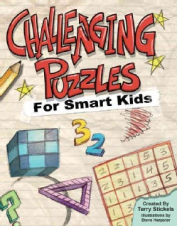 Challenging Puzzles for Smart Kids (Paperback)