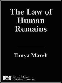 The Law of Human Remains (Hardcover)