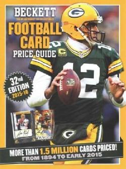 Beckett Football Card Price Guide 2015-16 (Paperback)