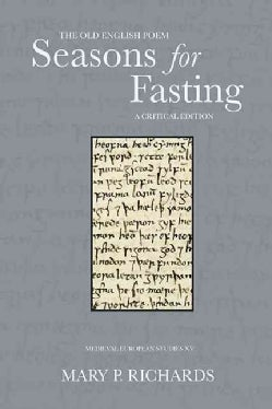 The Old English Poem Seasons for Fasting (Paperback)
