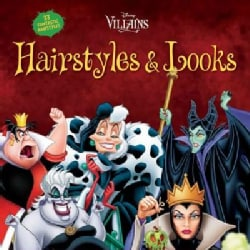 Disney Villains Hairstyles & Looks (Paperback)
