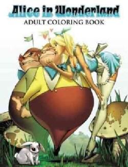 Alice in Wonderland Adult Coloring Book (Paperback)