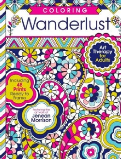 Coloring Wanderlust: Art Therapy for Adults (Paperback)
