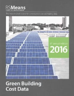 RSMeans Green Building Cost Data 2016 (Paperback)