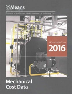 RSMeans Mechanical Cost Data 2016 (Paperback)