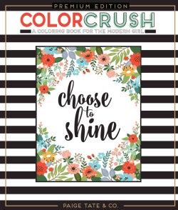 Color Crush: An Adult Coloring Book (Paperback)