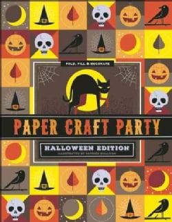 Halloween Paper Craft Party (Paperback)