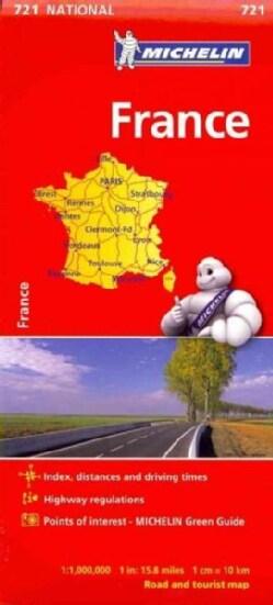 Michelin France (Sheet map, folded)