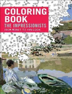Impressionists - from Monet to Van Gogh: Coloring Book (Paperback)