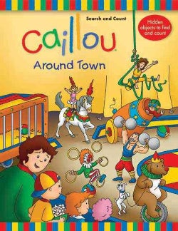 Search and Count: Around Town (Board book)