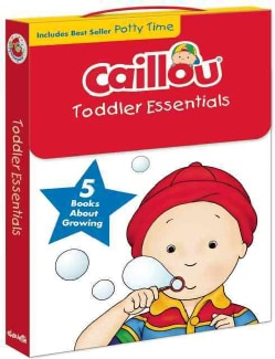 Caillou Toddler Essentials: 5 Books About Growing (Paperback)