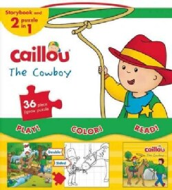 Caillou, My Cowboy Collection: Includes Caillou, the Cowboy and a 2-in-1 Jigsaw Puzzle (Board book)
