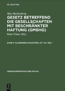 Allgemeine Einleitung 1-34 (Hardcover)