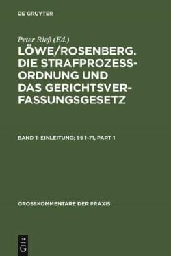 Einleitung; §§ 1-71 (Hardcover)