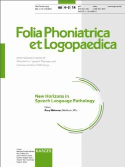 New Horizons in Speech Language Pathology (Paperback)
