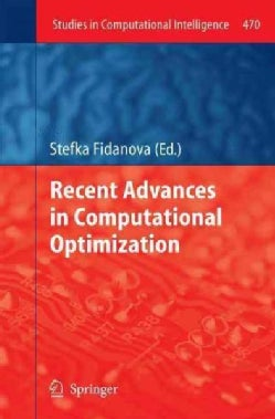 Recent Advances in Computational Optimization (Hardcover)