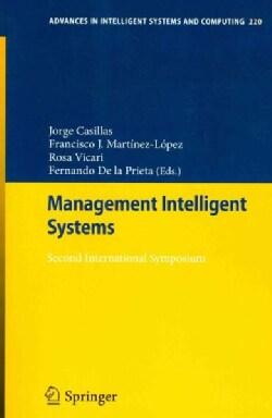 Management Intelligent Systems: Second International Symposium (Paperback)