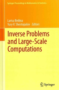 Inverse Problems and Large-Scale Computations (Hardcover)