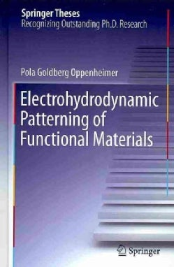 Electrohydrodynamic Patterning of Functional Materials (Hardcover)