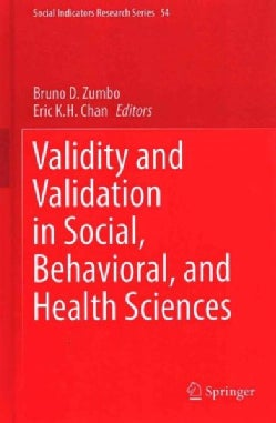 Validity and Validation in Social, Behavioral, and Health Sciences (Hardcover)
