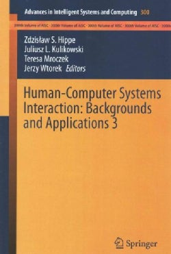 Human-Computer Systems Interaction: Backgrounds and Applications 3 (Paperback)