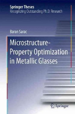 Microstructure-property Optimization in Metallic Glasses (Hardcover)
