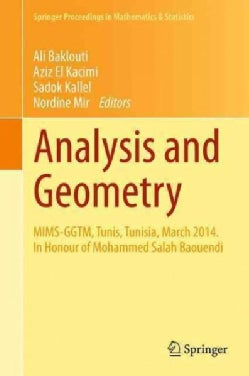 Analysis and Geometry: Mims-ggtm in Honour of Mohammed Salah Baouendi (Hardcover)