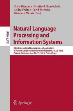 Natural Language Processing and Information Systems: 20th International Conference on Applications of Natural Lan... (Paperback)