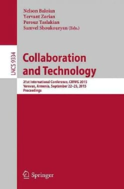 Collaboration and Technology: 21st International Conference, Criwg 2015 (Paperback)