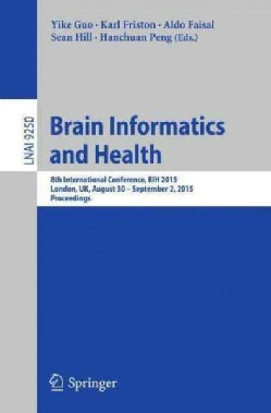 Brain Informatics and Health: 8th International Conference, Bih 2015 (Paperback)