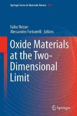 Oxide Materials at the Two-dimensional Limit (Hardcover)