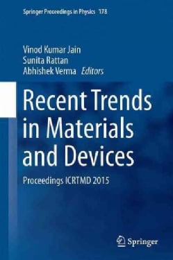 Recent Trends in Materials and Devices: Proceedings Icrtmd 2015 (Hardcover)