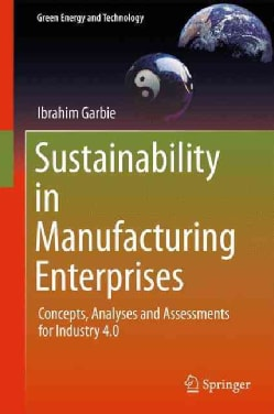 Sustainability in Manufacturing Enterprises: Concepts, Analyses and Assessments for Industry 4.0 (Hardcover)