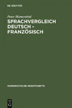 Sprachvergleich Deutsch - Franzosisch (Paperback)
