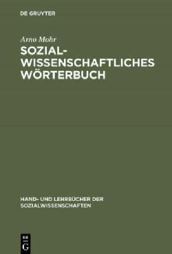 Sozialwissenschaftliches Worterbuch (Hardcover)