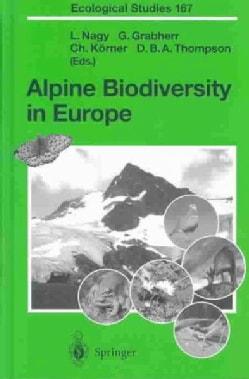 Alpine Biodiversity in Europe (Hardcover)