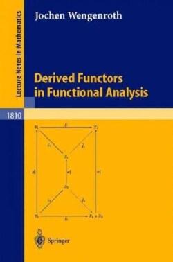 Derived Functors in Functional Analysis (Paperback)