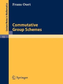 Commutative Group Schemes (Paperback)