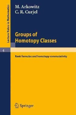 Groups of Homotopy Classes: Rank Formulas and Homotopy-commutativity (Paperback)