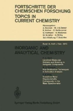 Inorganic and Analytical Chemistry (Paperback)