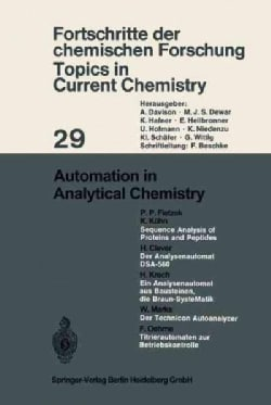 Automation in Analytical Chemistry (Paperback)