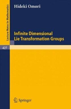 Infinite Dimensional Lie Transformation Groups (Paperback)