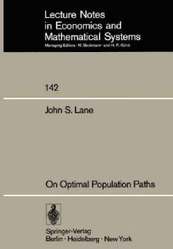 On Optimal Population Paths (Paperback)
