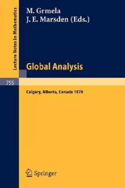 Global Analysis: Proceedings of the Biennial Seminar of the Canadian Mathematical Congress, Calgary, Alberta, Jun... (Paperback)