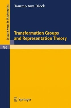 Transformation Groups and Representation Theory (Paperback)