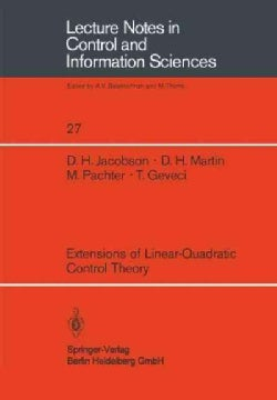 Extensions of Linear-Quadratic Control Theory (Paperback)