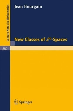 New Classes of LP-Spaces (Paperback)