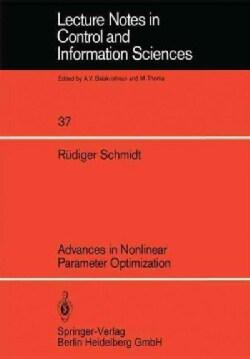 Advances in Nonlinear Parameter Optimization (Paperback)